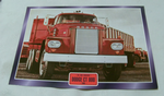Dodge CT 800 1966 Truck framed picture